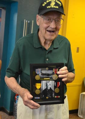 World War II veteran visits Rutland Boys and Girls Club