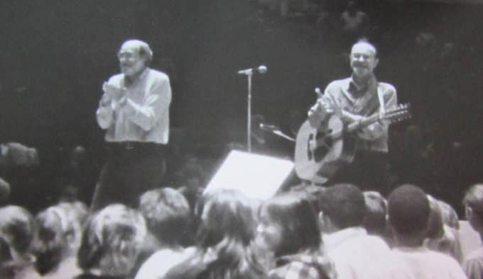 Counterpoint Chorus, Pete Seeger reunite to record new album of Seeger songs