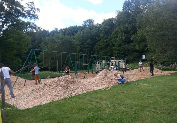 Plymouth playground revamped