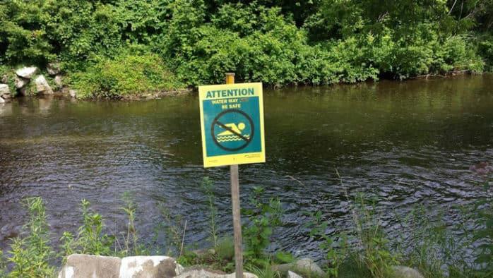 Untreated sewage released in East Creek in Rutland