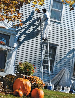 Exterior painting pointers