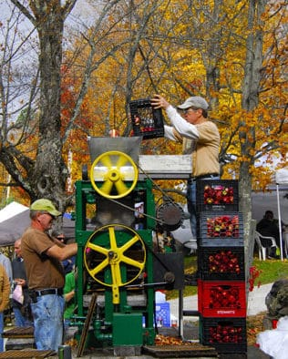 "A ""Top Ten Fall Event,"" Cider Days presses on in Belmont"