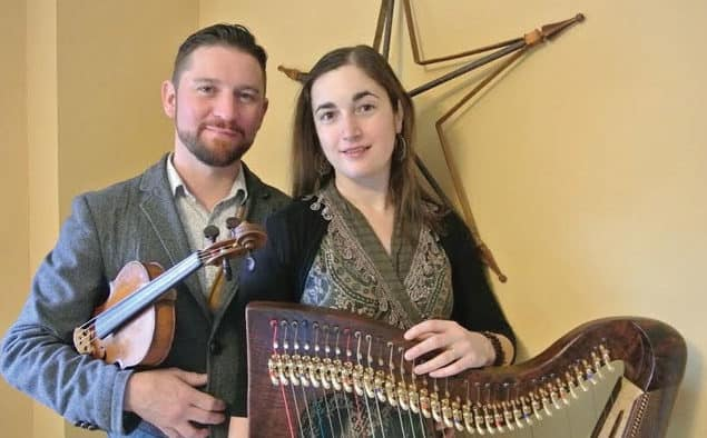 Irish and Scottish music makes its way to Tinmouth with husband and wife duo