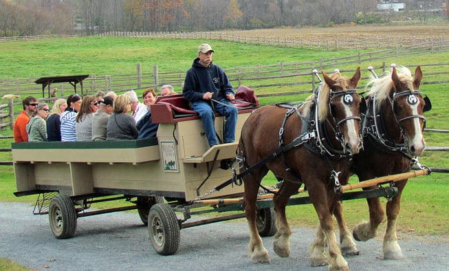 Wagon Ride Weekends featured at Billings