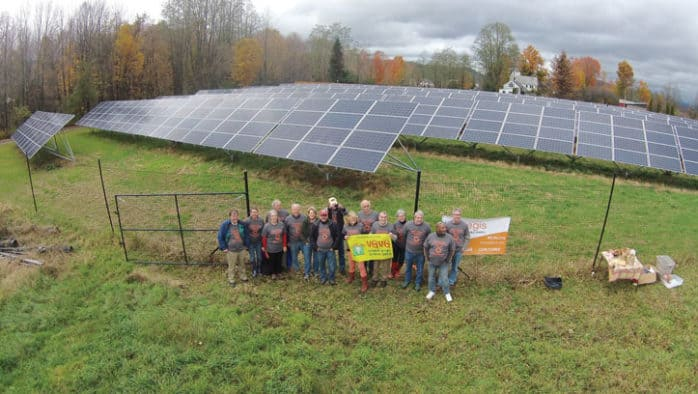 "Boardman Hill Solar Farm is ""Vermont Grown, Vermont Green"""