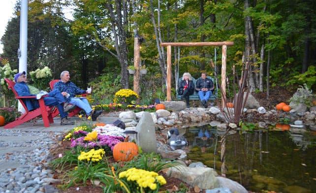 Water wheel park dedicated