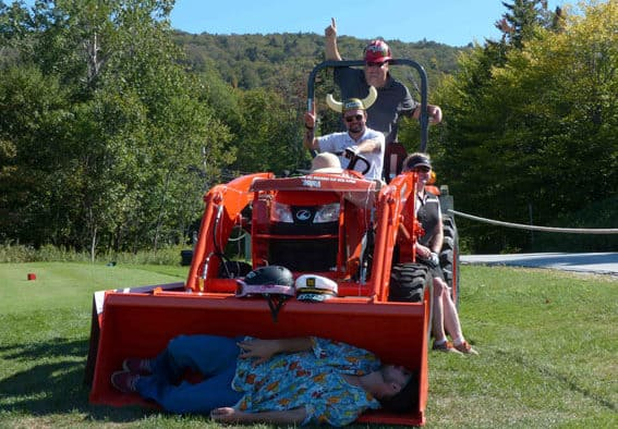 Sunshine and smiles highlight KMS annual golf tournament