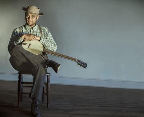 Grammy winner, Dom Flemons performs at Chandler Music Hall