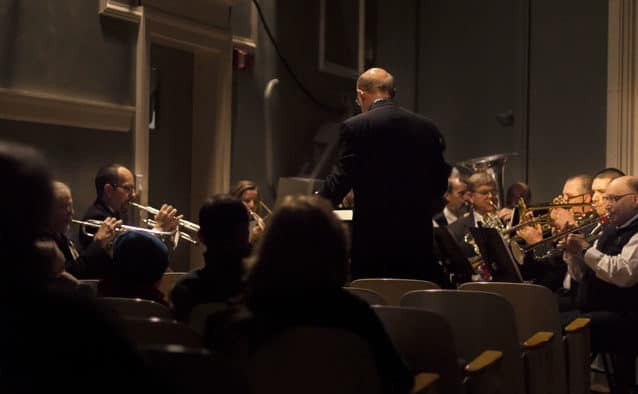 GMC and Community Concert Band give fall performance