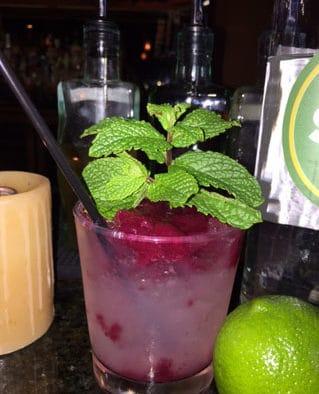 Cocktail Corner: the cranberry cobbler