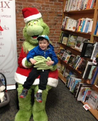 Rutland area kids happy to meet Dr. Seuss's meanest and greenest character