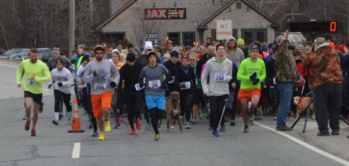 Turkey trots attract families pre-feast