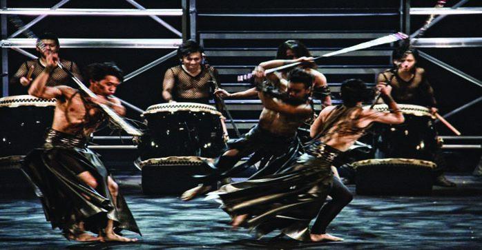 TAO: Seventeen Samurai explodes onto Paramount Stage