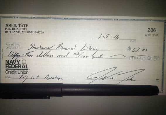 Voluntary pay cut money donated to local organizations