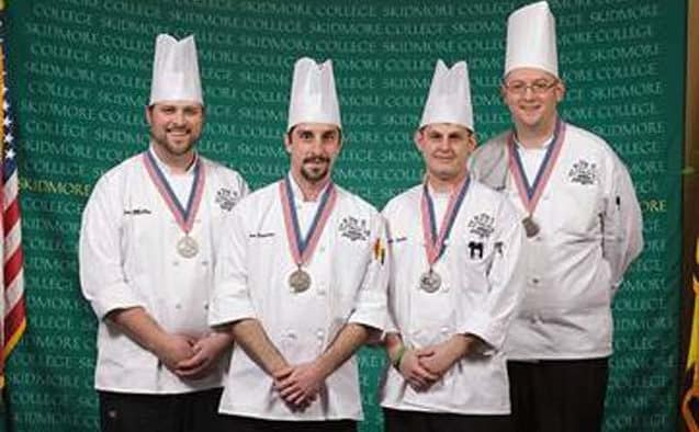 Foundry Executive Chef Sean Miller wins silver medal at prestigious culinary competition