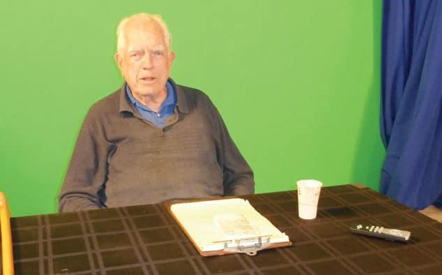 Joe Tilden records 700th episode for PEGTV
