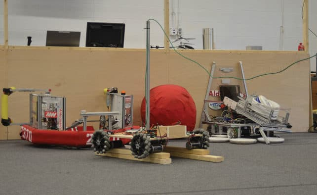 Rutland Area Robotics receive 2016 challenge