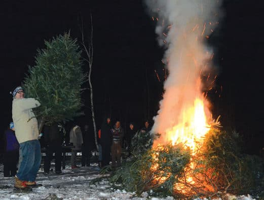First annual Bonfire and Snow Dance benefit successful