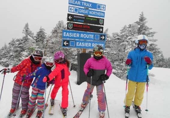 Killington elementary Trailblazers take education to the slopes