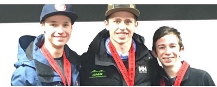 PG student takes top finishes on icy course