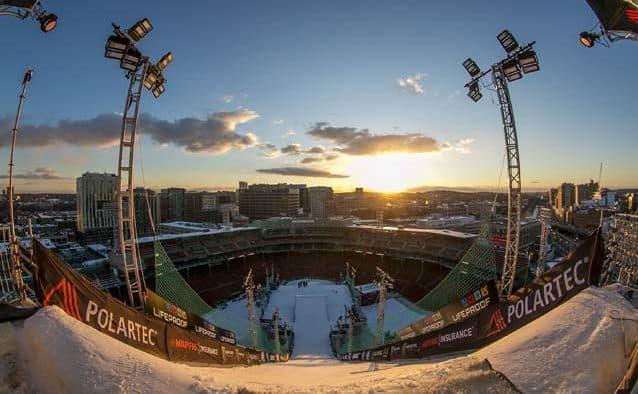 Building a ski hill in Boston—snow critical