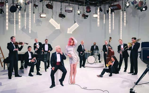 Storm Large leads Pink Martini in a spring fling at Paramount