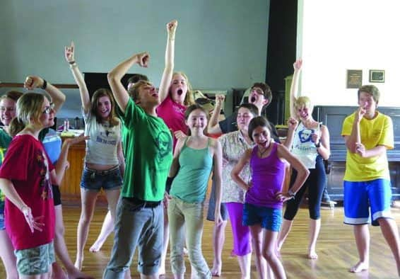 Chandler and Chelsea Funnery team up to present Cabin-Fever Reliever Theatre Workshops