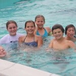 Kids in Johnson Pool