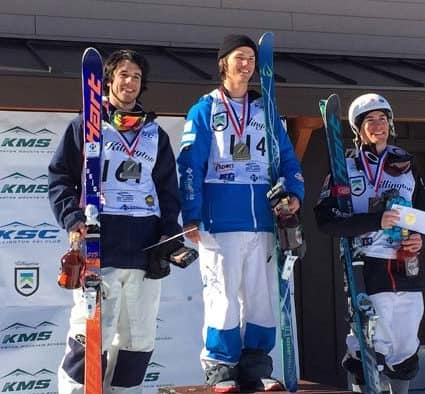 Killington Mountain School's Abe Studler takes second place in Duals at NorAm Finals
