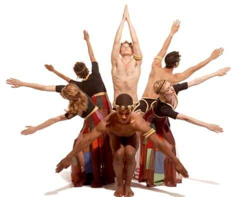 American modern dance, Taylor 2 takes to Paramount stage