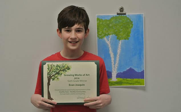 KES student wins Arbor Day art contest