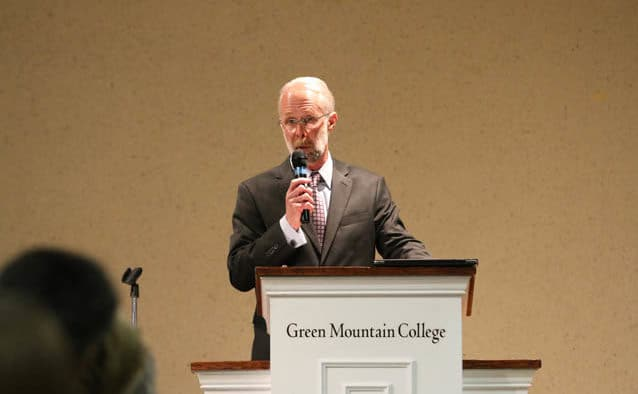 Robert W. Allen named new president of Green Mountain College