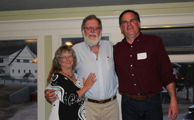 """""""Grizz"""" honored at retirement parties"""