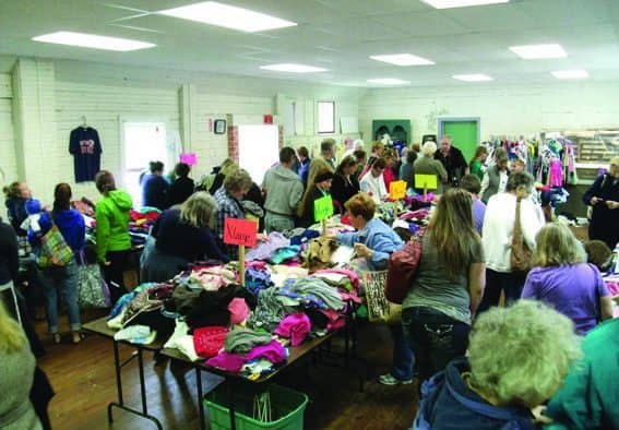 BRGNS gears up for annual spring rummage sale