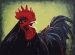 Black Rooster by Robin Callahan, Compass Music & Arts Center