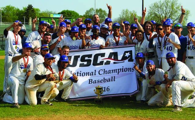 College of St. Joseph baseball captures first USCAA National Championship title