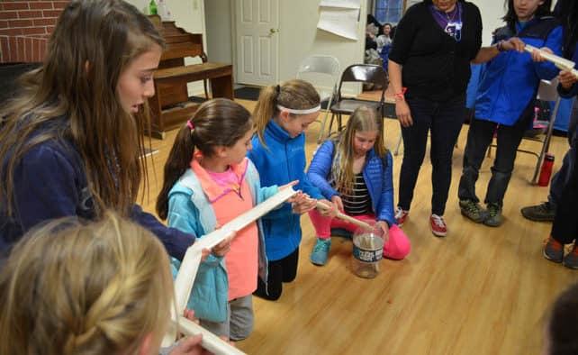 Local schools visit Nature's Classroom