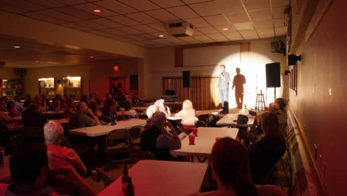 Comedy night fundraiser in West Rutland showcased a range of comedic styles