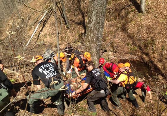 Search and rescue training held in Killington