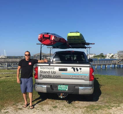Vermont places fourth in North Carolina SUP competition