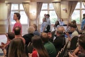 Special Olympics Training at Killington Press Conference