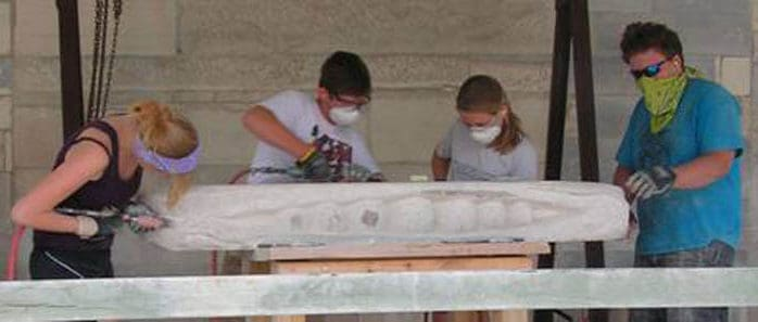 Stone Bench Project for teens continues in 2016