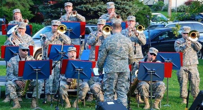 Fair Haven welcomes 40th Army Band