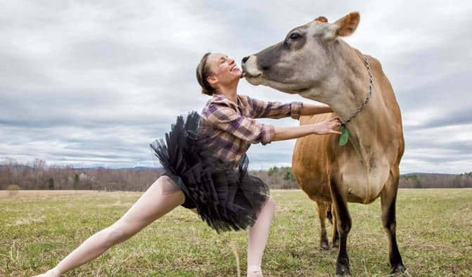 Cows and tutus? Farm to Ballet to perform locally