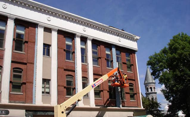 Clement Building gets a facelift to receive Castleton U. students
