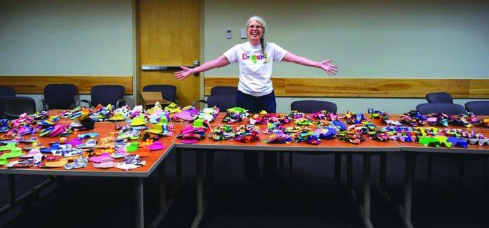 Rutland County contributes to elephant origami challenge