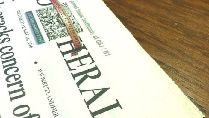 Questions about Rutland Herald's financial stability surface