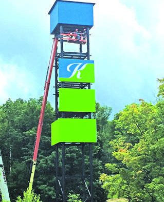 Killington personalizes its cell tower