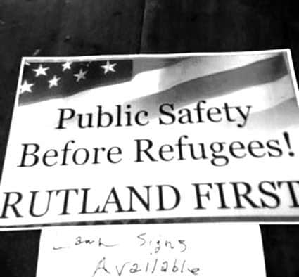 Refugees 'nonissue' for public safety, says Rutland Police Chief