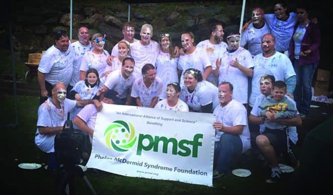 Pies in the Face challenge raises money for rare disease